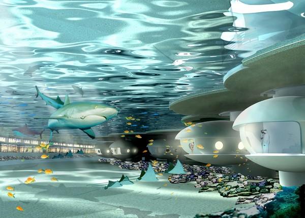 Подводный курорт на 80 тысяч квадратных метров