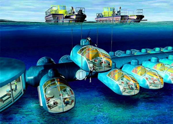 Подводный курорт Poseidon