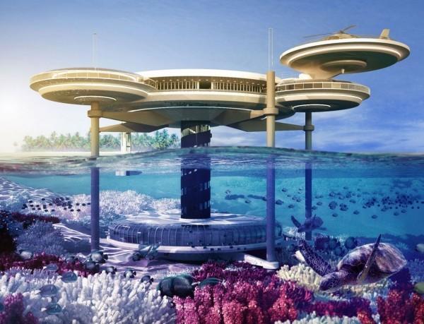 Water Discus Underwater Hotel — подводный отель в Дубае