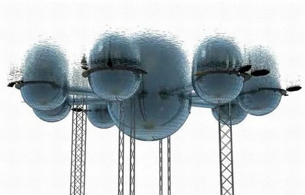 Подводный город от Фила Паули (Phil Pauley)