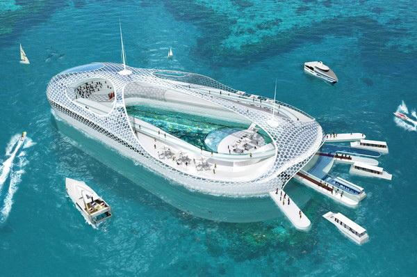 Семизвездочный подводный отель
