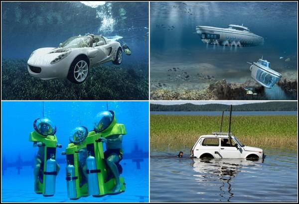 Средства передвижения под водой