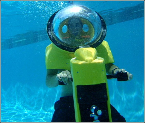 Под водой как по асфальту обзор