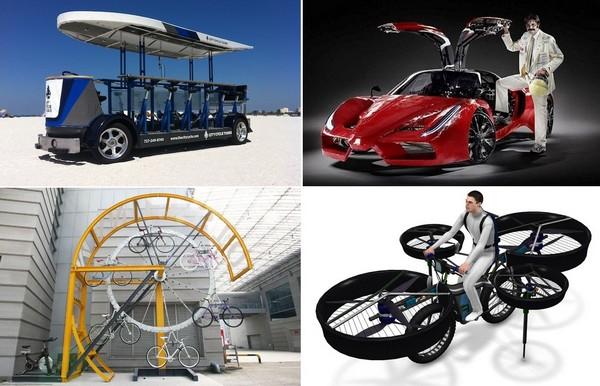 Самые необычные современные велосипеды
