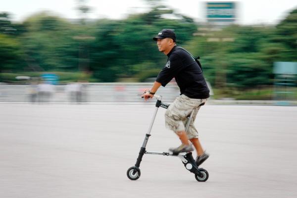 Велосипед-малютка A-bike