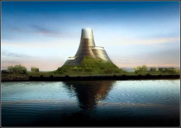 Электростанция-вулкан в Англии