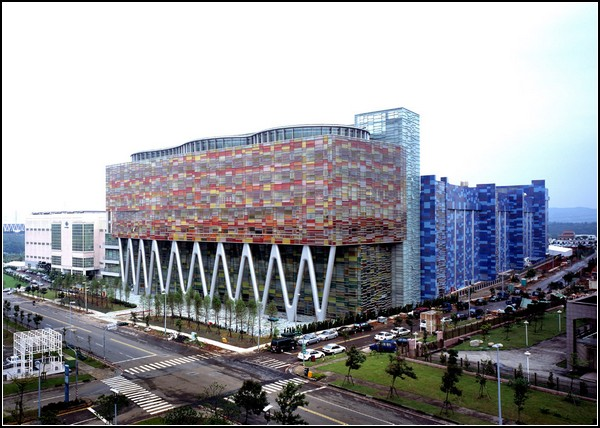 Завод Inotera на Тайване