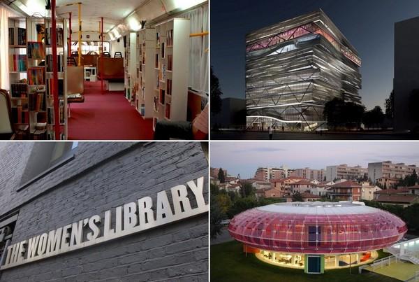 Самые необычные в мире библиотеки