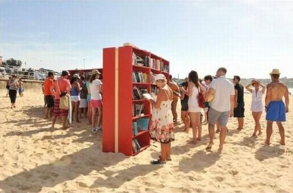 Пляжные библиотеки
