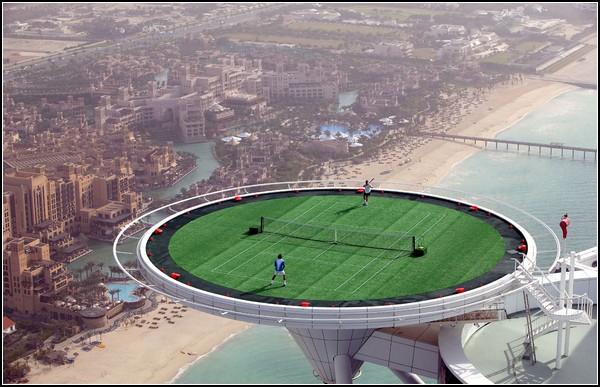Теннис на высоте