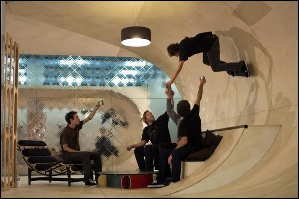 Дом для скейтбординга