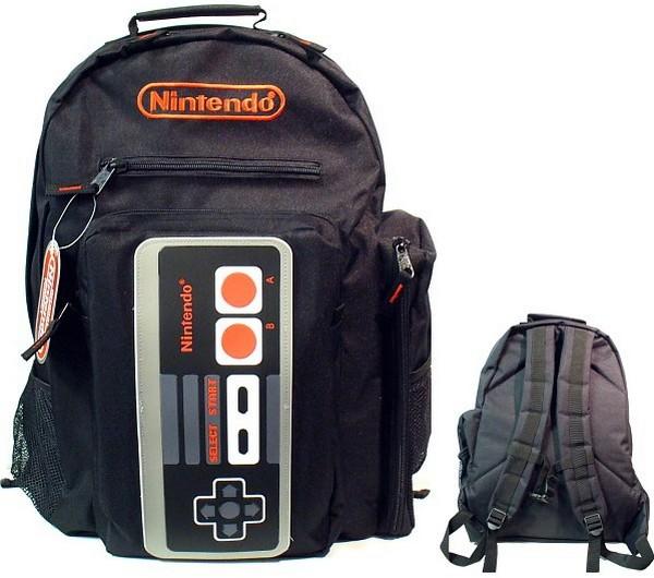 Рюкзак с джойстиком от NES