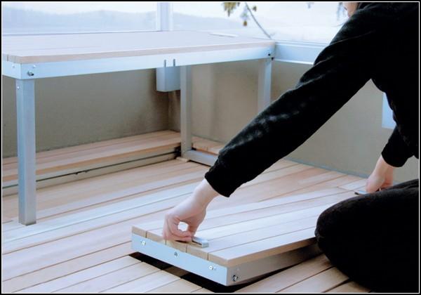 Балкон-раскладушка