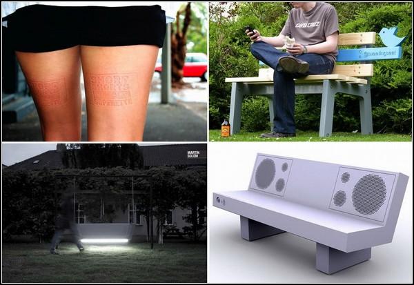 Самые необычные скамейки в мире