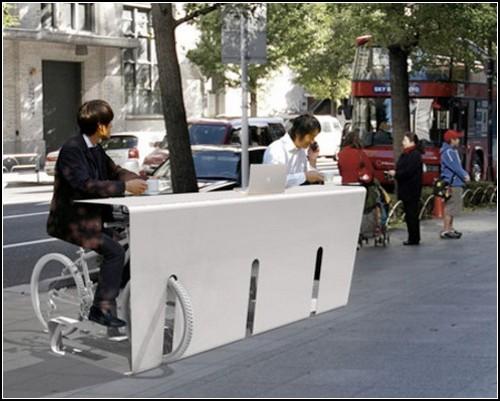 Парковка-стол