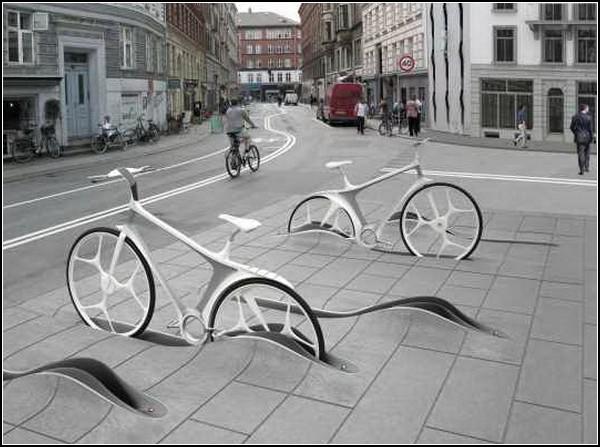 Парковки в тротуаре
