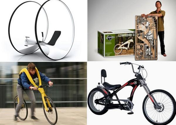 Самые необычные в мире велосипеды