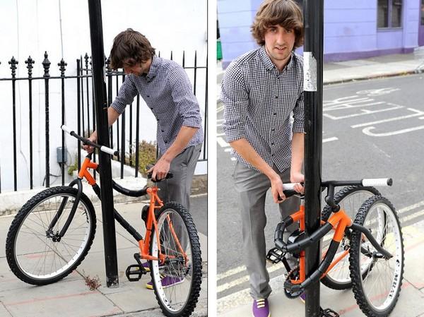 Bendy – велосипед, который сам себя охраняет