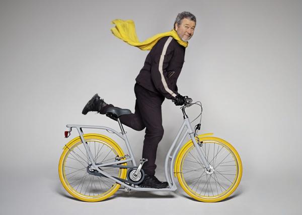 Pibal – велосипед-самокат от Филиппа Старка
