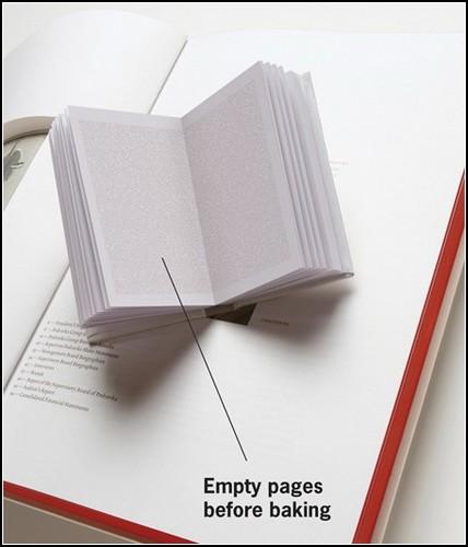 Поваренная книга, которую нужно запечь в духовке