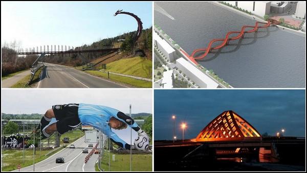 Самые необычные в мире мосты