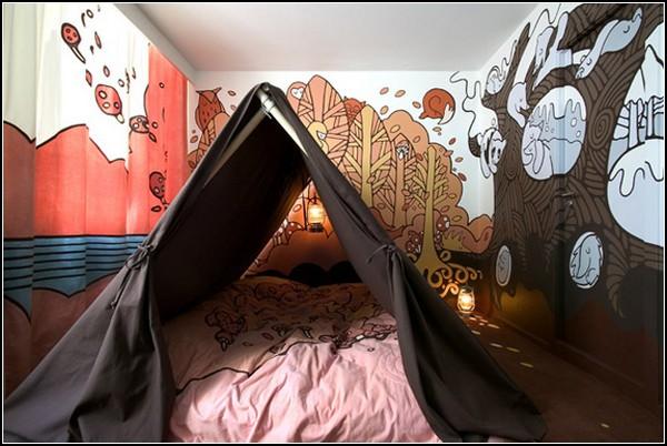 Палатка в отеле