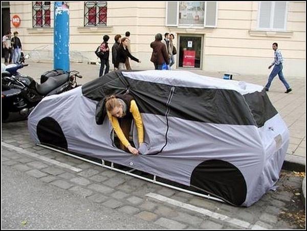 Палатка-автомобиль