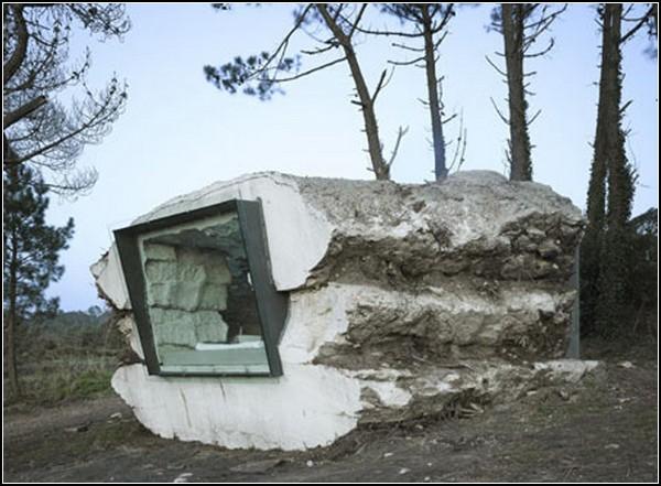 Жилой дом в искусственной пещере