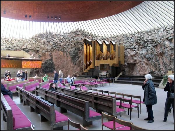 Лютеранская кирха в пещере