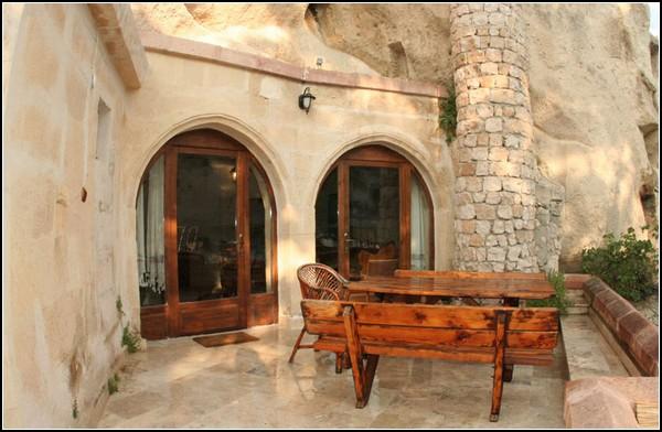 Гостиница в пещерах Каппадокии