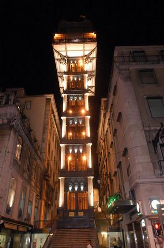 Elevador de Santa Justa — лифт как вид городского транспорта