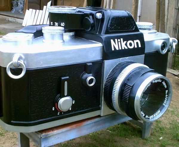 Гроб для любителей камер Nikon
