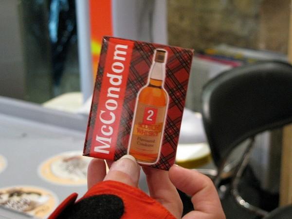McCondom – презерватив со вкусом виски