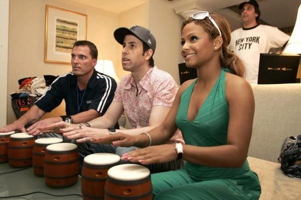 Игровые барабаны DK Bongos
