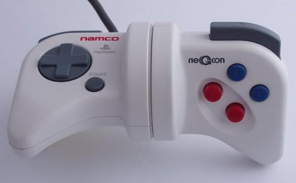 NeGcon – контроллер-ротатор для гонок