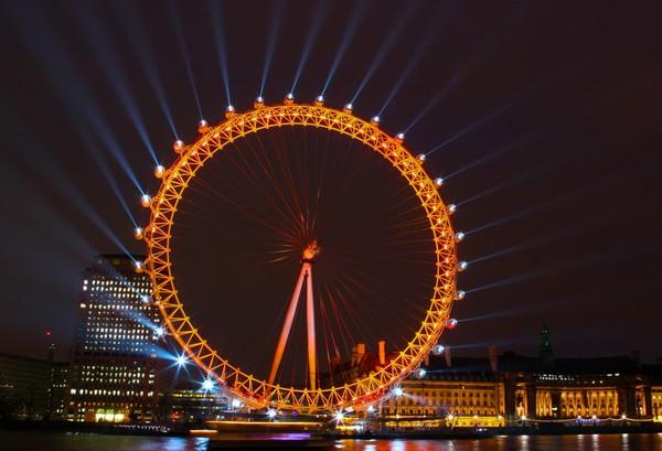 London Eye – самое известное в мире колесо обозрения