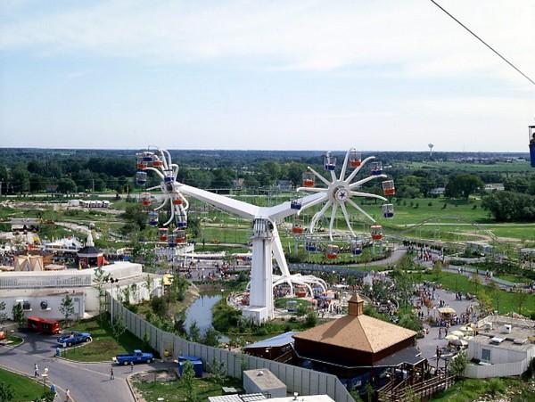 Sky Whirl – тройное колесо обозрения
