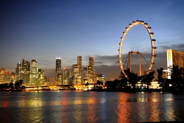 Singapore Flyer – самое высокое в мире колесо обозрения