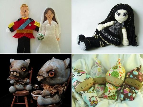 Самые необычные хэндмэйд-куклы