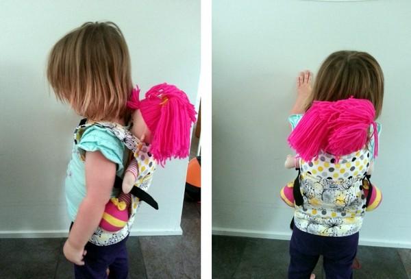 Куклы-рюкзаки от Little Kiwis