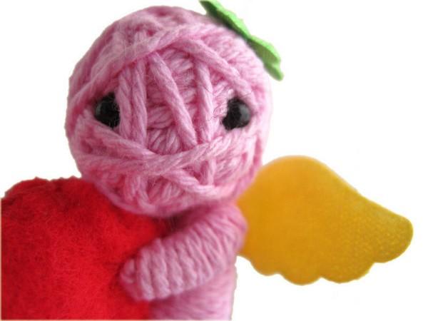 Куклы-клубки String Doll