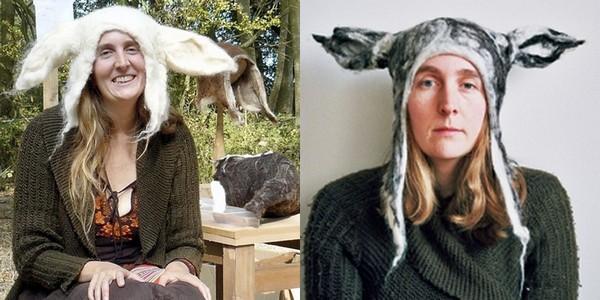 Звериные шапки от Барбары Киал (Barbara Keal)