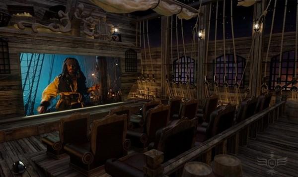 Домашний кинотеатр для любителей «Пиратов Карибского моря»