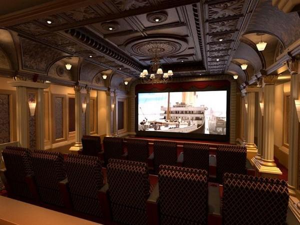 Домашний кинотеатр в стиле 1920-х