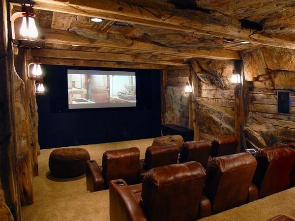 Домашний кинотеатр времен «золотой лихорадки»