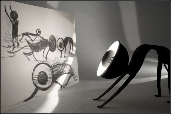 Лампа-кошка