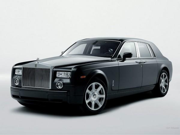 Электрический лимузин Rolls-Royce Phantom