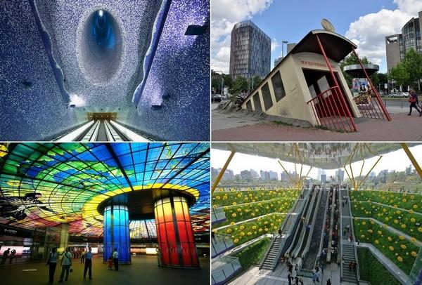 Самые необычные в мире станции метрополитена