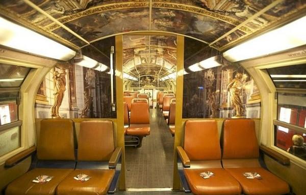 Поезд-Версаль в Париже