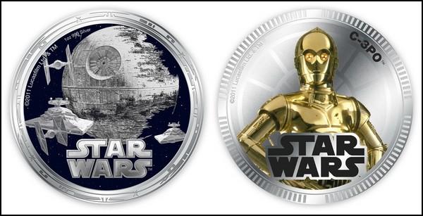 Монеты с персонажами «Звездных Войн»